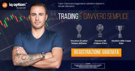 IQ Option Fabio Cannavaro