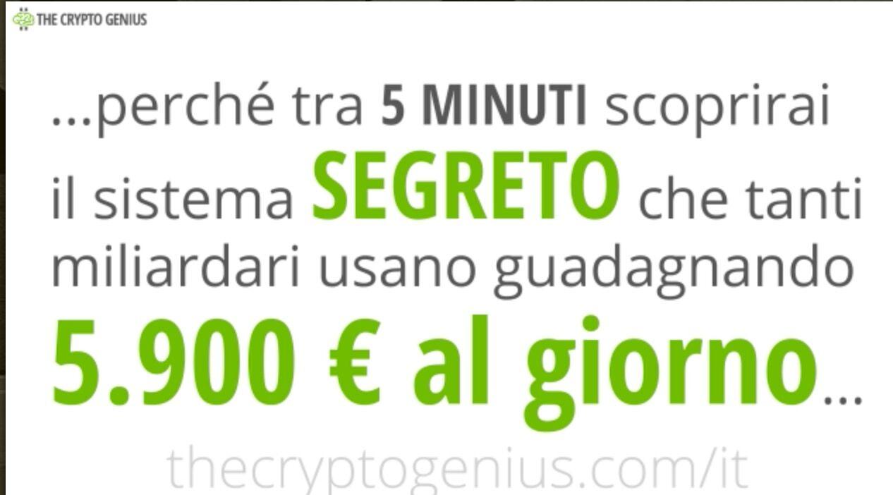 Crypto Genius e le sue promesse