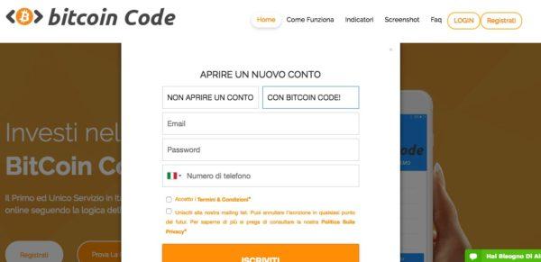 Bitcoin Code cos'è e come funziona