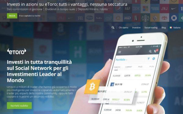 Investi con eToro in Crypto