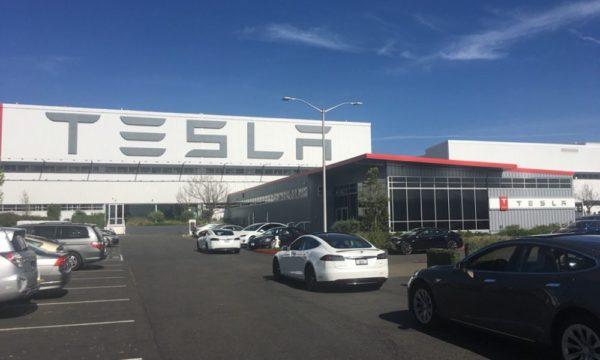 Tesla Fabbrica a Fremont California