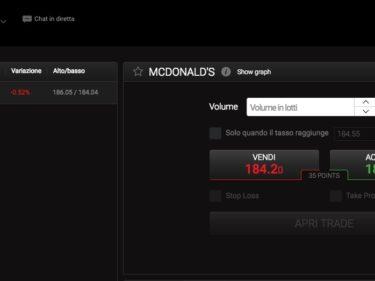 Comprare Azioni McDonald con 24option