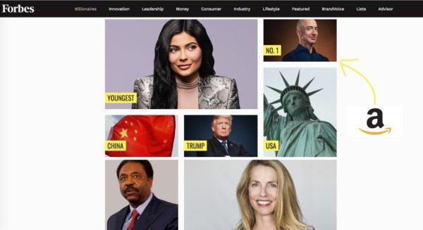 Jeff Bezos Amazon Uomo piu Ricco del Mondo