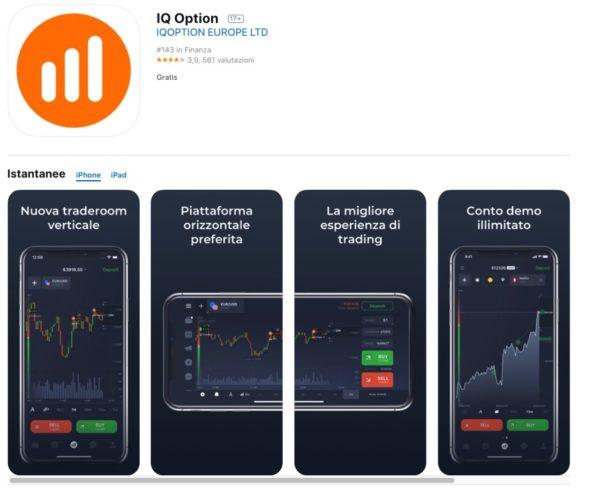 Borsa Virtuale IQ Option