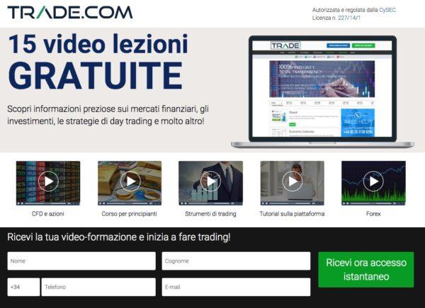 Trade.com 15 VideoLezioni Gratuite