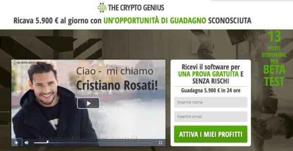 Crypto Genius Cristiano Rosati