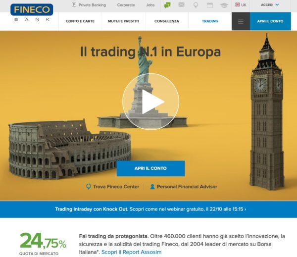 Fineco Trading Automatico