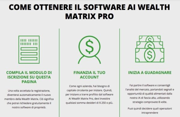 The Wealth Matrix Software The Wealth Matrix Pro
