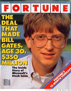 Fortune Microsoft IPO