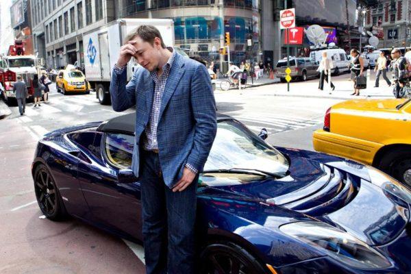 La Tesla Roadster ed Elon Musk