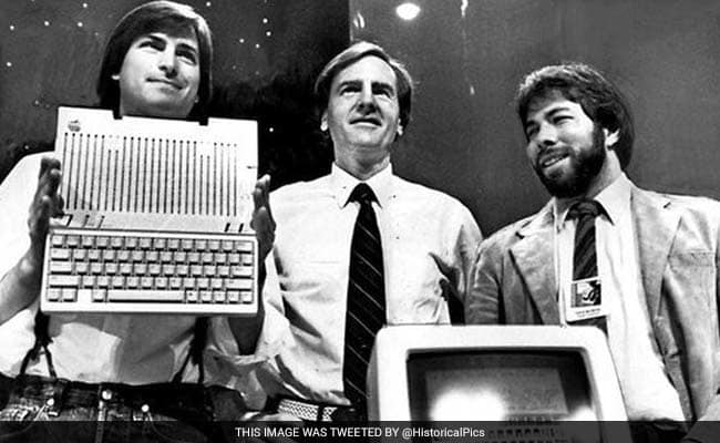 Steve Jobs Steve Wozniak Ronald Wayne
