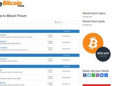 Bitcoin Forum Opinioni e Recensioni