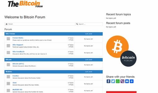 forum di investimento bitcoin