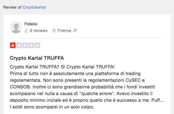 Crypto Kartal Truffa o Non Truffa