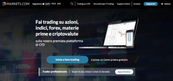 Markets.com Trading Soia