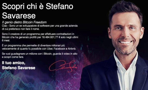 Stefano Savarese Bitcoin Freedom