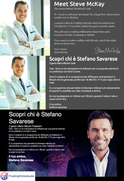 Stefano Savarese Identita
