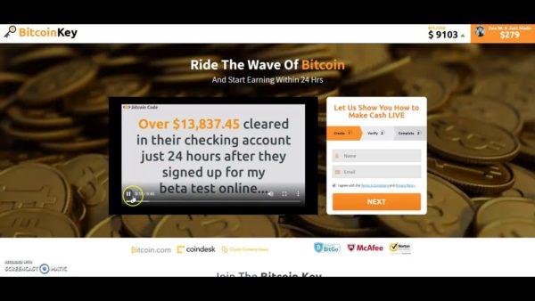 Bitcoin Key HomePage