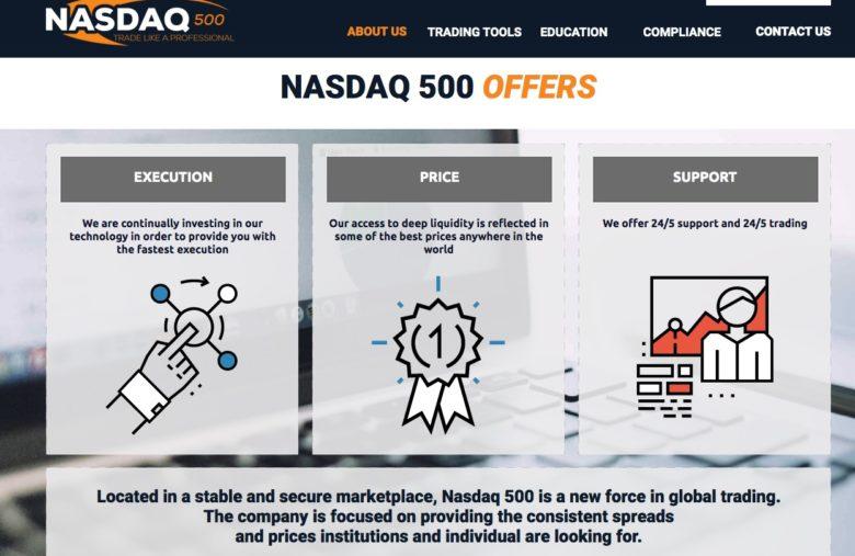 NASDAQ500 Truffa