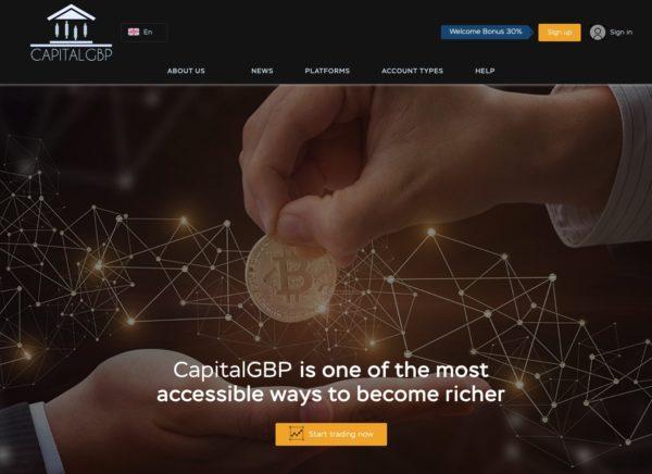 CapitalGBP Recensioni ed Opinioni