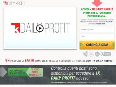 1K Daily Profit Opinioni e Recensioni