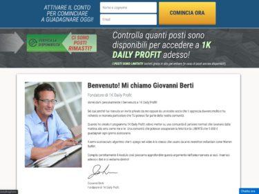1k Daily Profit Giovanni Berti