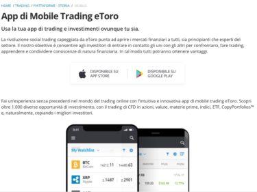 App per Giocare in Borsa