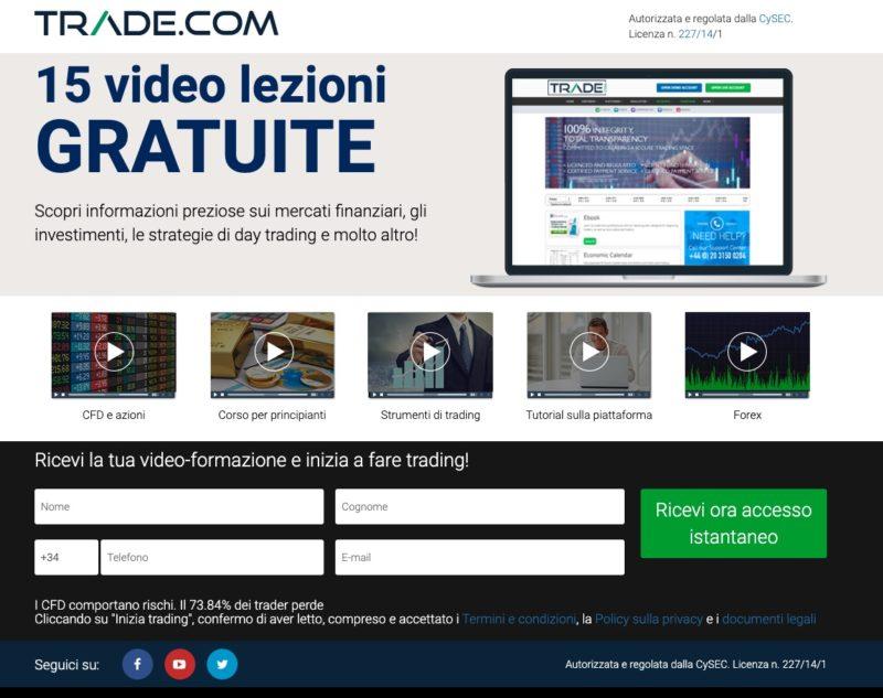 Manuale di Trading Videolezioni Gratuite Trade.com