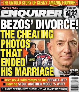 Jeff Bezos Scandalo