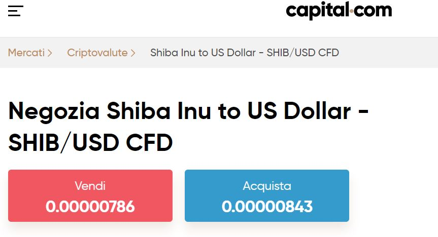 Capital Shiba Inu CFD